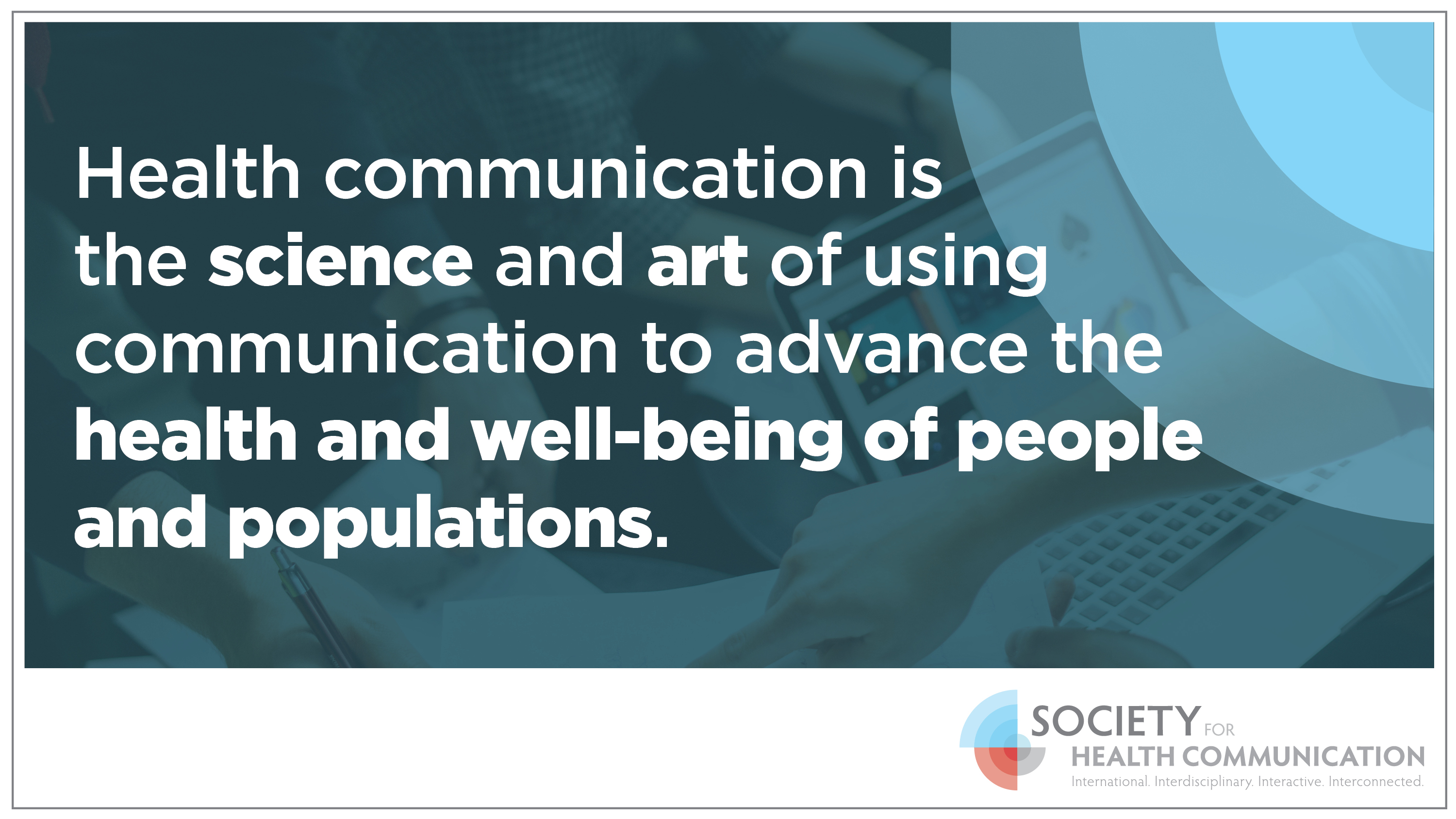 Health Communication Definition